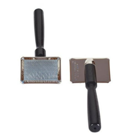 Ultimate Small Professional Slicker Brush, Longer pins get all the way through the most dense coats By 1 All
