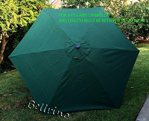bellrino decor replacement hunter green strong ; thick um...