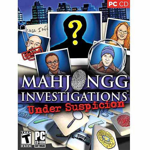 ValuSoft Cosmi Mahjongg Investigations Under Suspicion (Windows) (Digital Code)