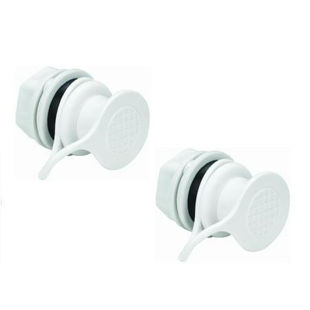 Igloo Standard Triple Snap Drain Plug, 2PK Cooler Replacement ()