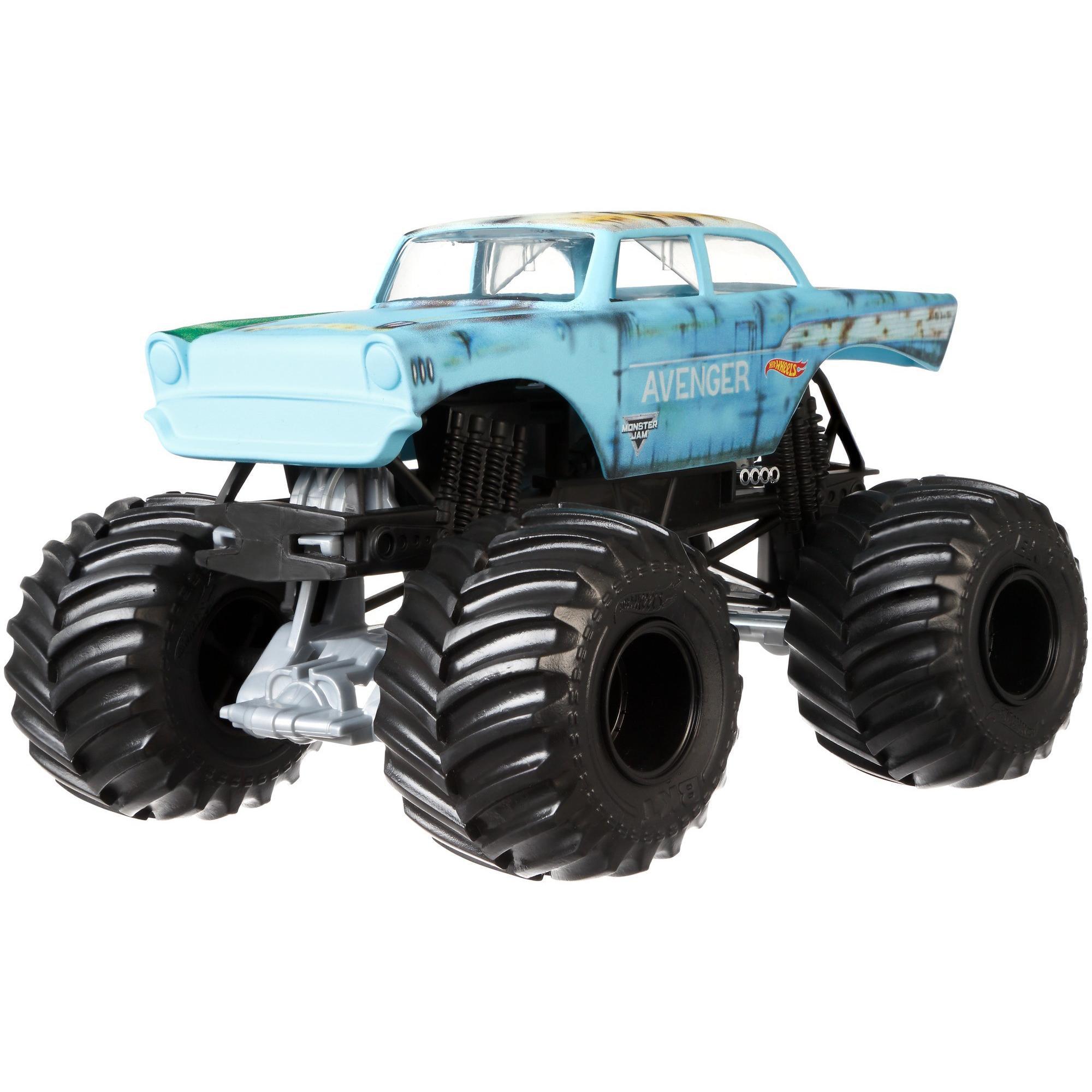 Hot Wheels Monster Jam 1:24 Scale Avenger Vehicle, 2017 World Finals by Mattel