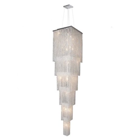 Worldwide Lighting Prism 21 Light Crystal Chandelier