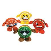 Fruit Emoji Character Plush - Toys - 4 Pieces
