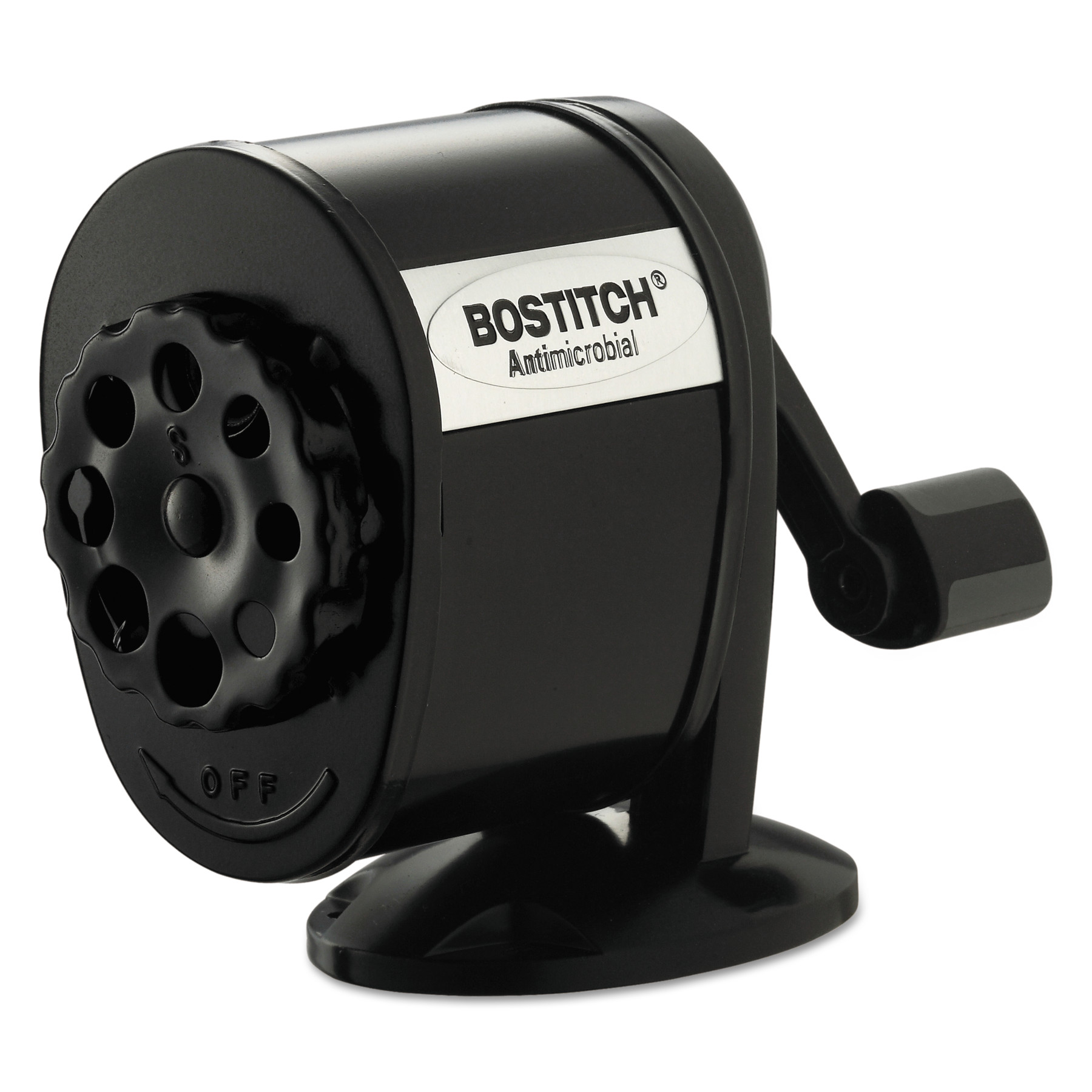 Antimicrobial Manual Pencil Sharpener, 1-Count