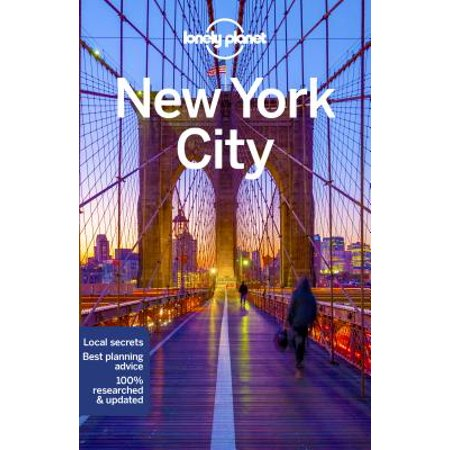 Travel guide: lonely planet new york city - paperback: