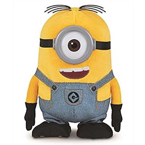 Despicable Me Walk & Talk Minion Stuart Toy Figure by