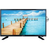 """Supersonic SC-9924 24"""" 1080P LED TV/DVD Combination, AC/DC Compatible With RV/Boat"""