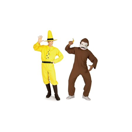 Duo Costume Ideas Friends (Curious George Costume Duo)