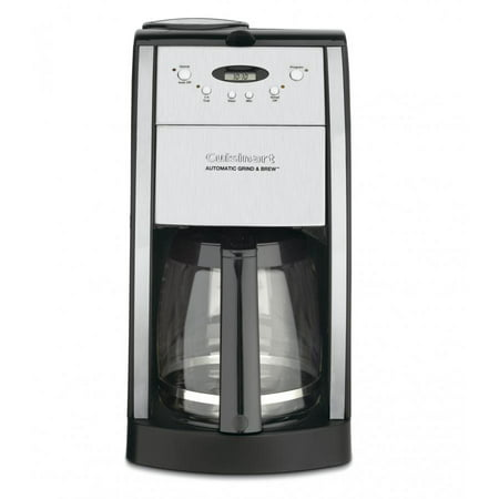 Cuisinart Grind and Brew 12-Cup Automatic Coffeemaker, Black
