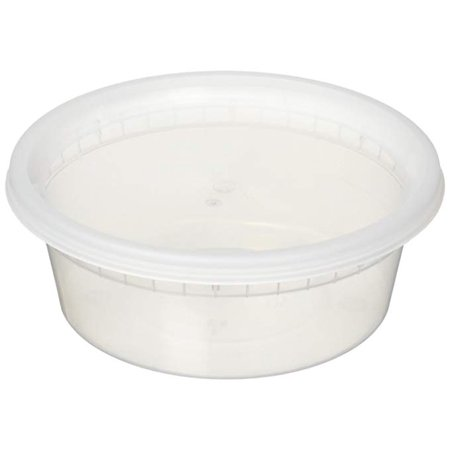 Reditainer 16 oz. Deli Food Storage Containers w/ Lids - 36 (16 Ounce Plastic Canisters)