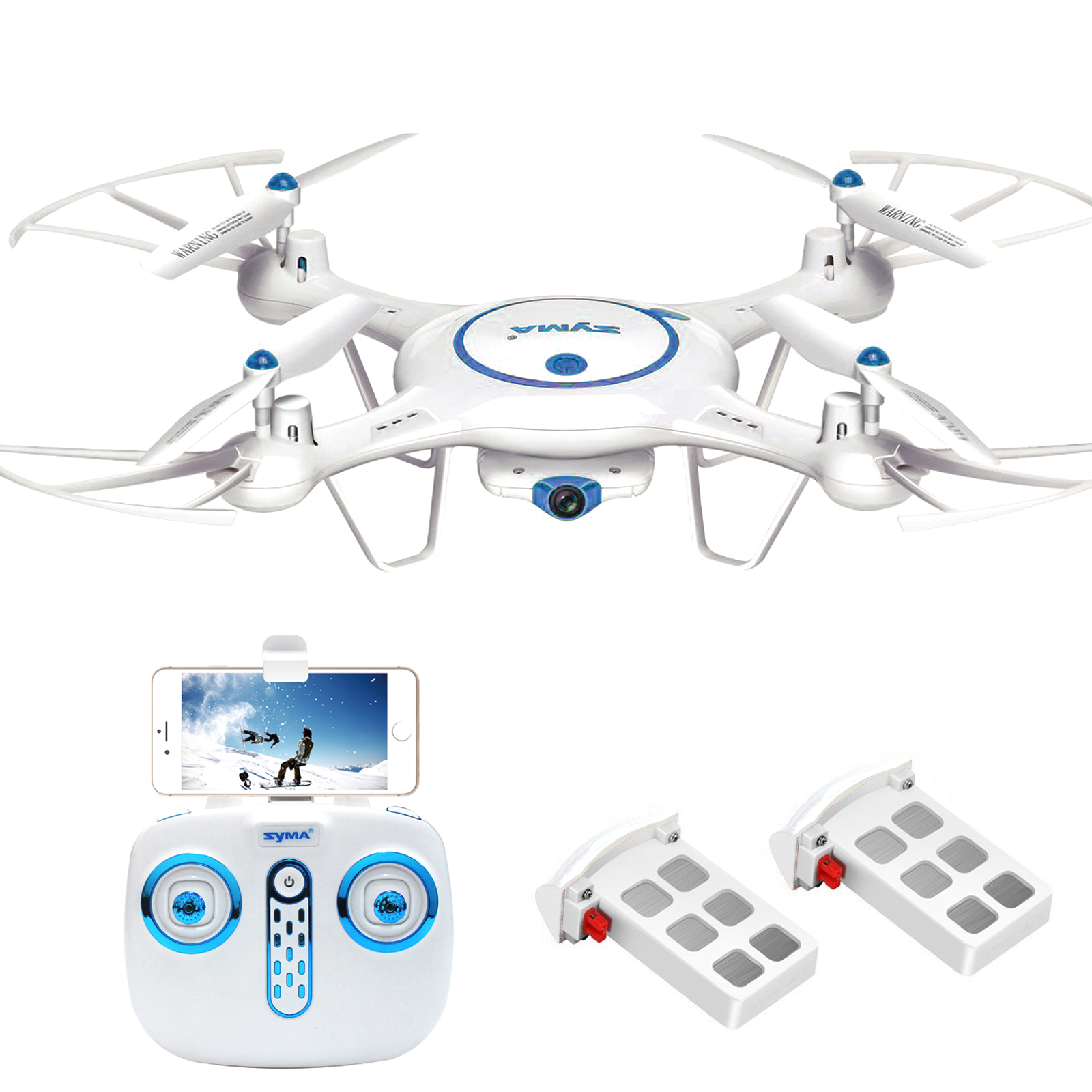 X5C Stable 6-Axles Quadcopter HD Camera Remote Control Aircraft High Performance Pocket... by Oakeskaran