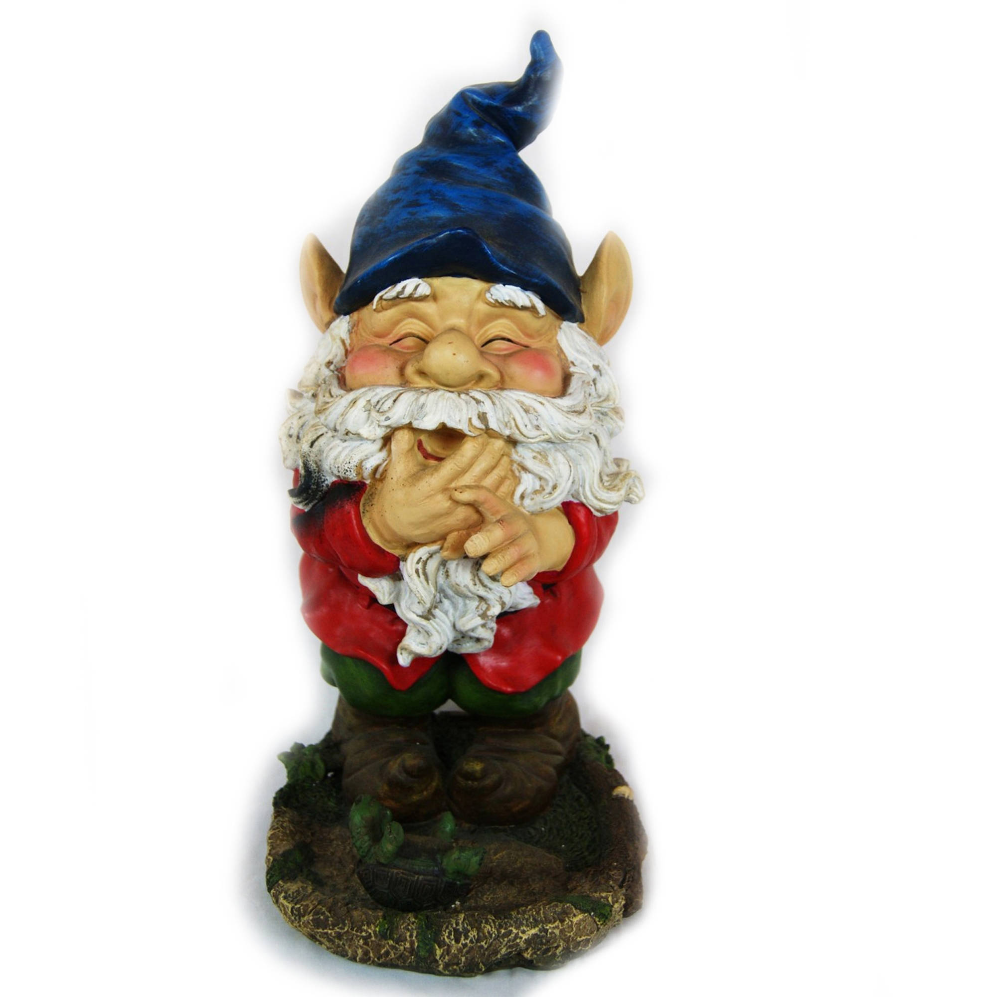 Smiling Gnome Statuary by Alpine Corp