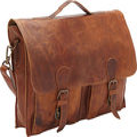 Chewbacca Messenger Bag (Sharo Soft Leather Laptop Messenger Bag and)