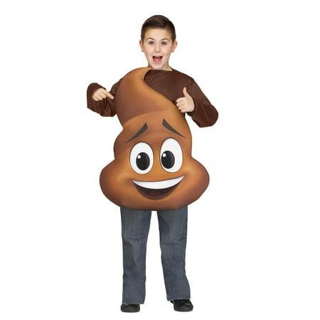 Pile Of Poop Halloween Costume (Child's Poop Jr. Tunic Costume)