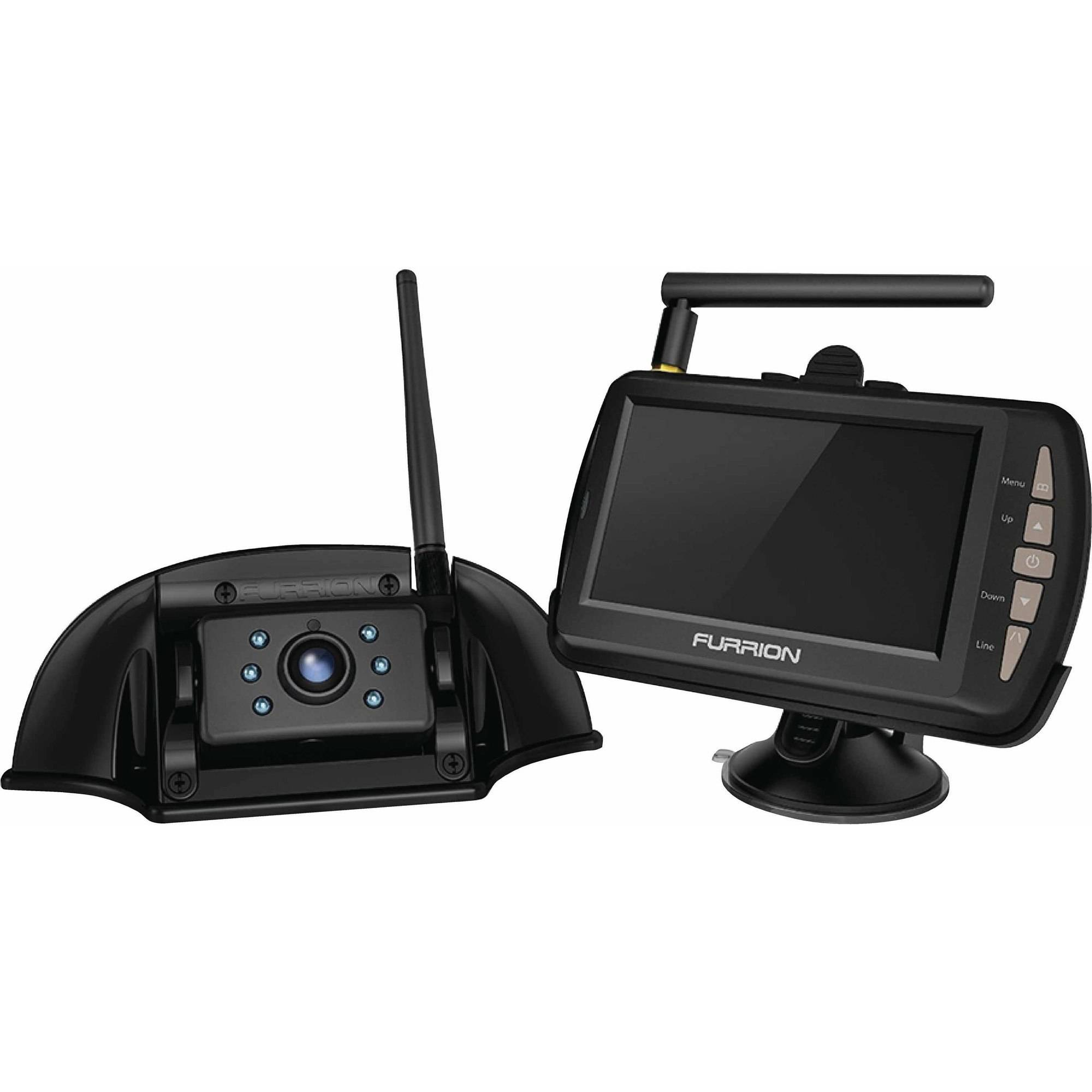 Furrion Digital High-Speed Wireless Observation System With Camera, Monitor and Mounting Bracket