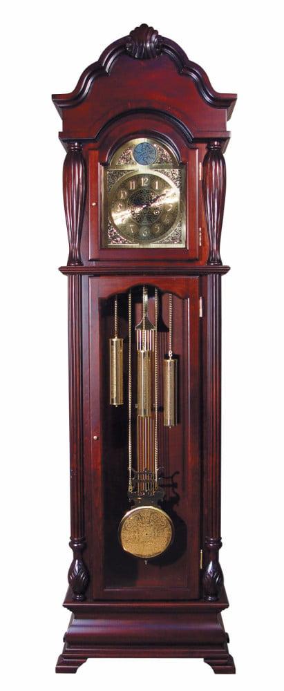 Grandfather Clock, Cherry by Benzara
