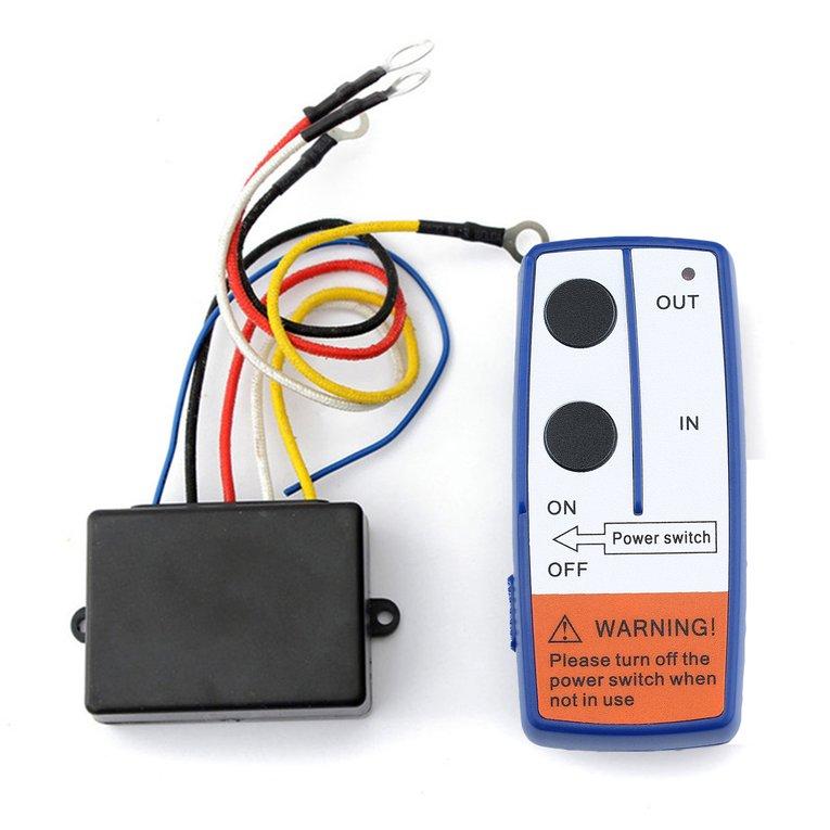 Remote Control Kit Wireless Winch Remote Control Switch For Truck ATV Winch