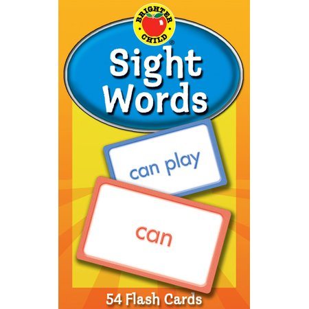 Sight Words Flash Cards (Made Up Halloween Words)