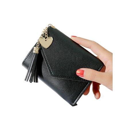 Cash Small Wallet (Women Money Holder Purse Short Small Wallet Bag Case Coin Card )