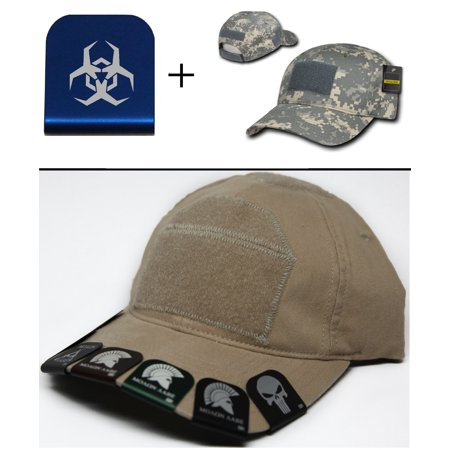 Malware Toxic Hazard Symbol Cap Crown Rim Brim It Blue   Acu Digital Hat