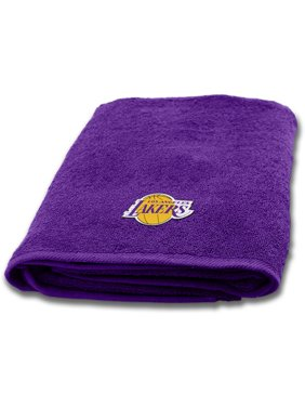 "NBA Los Angeles Lakers 25"" x 50"" Applique Bath Towel, 1 Each"