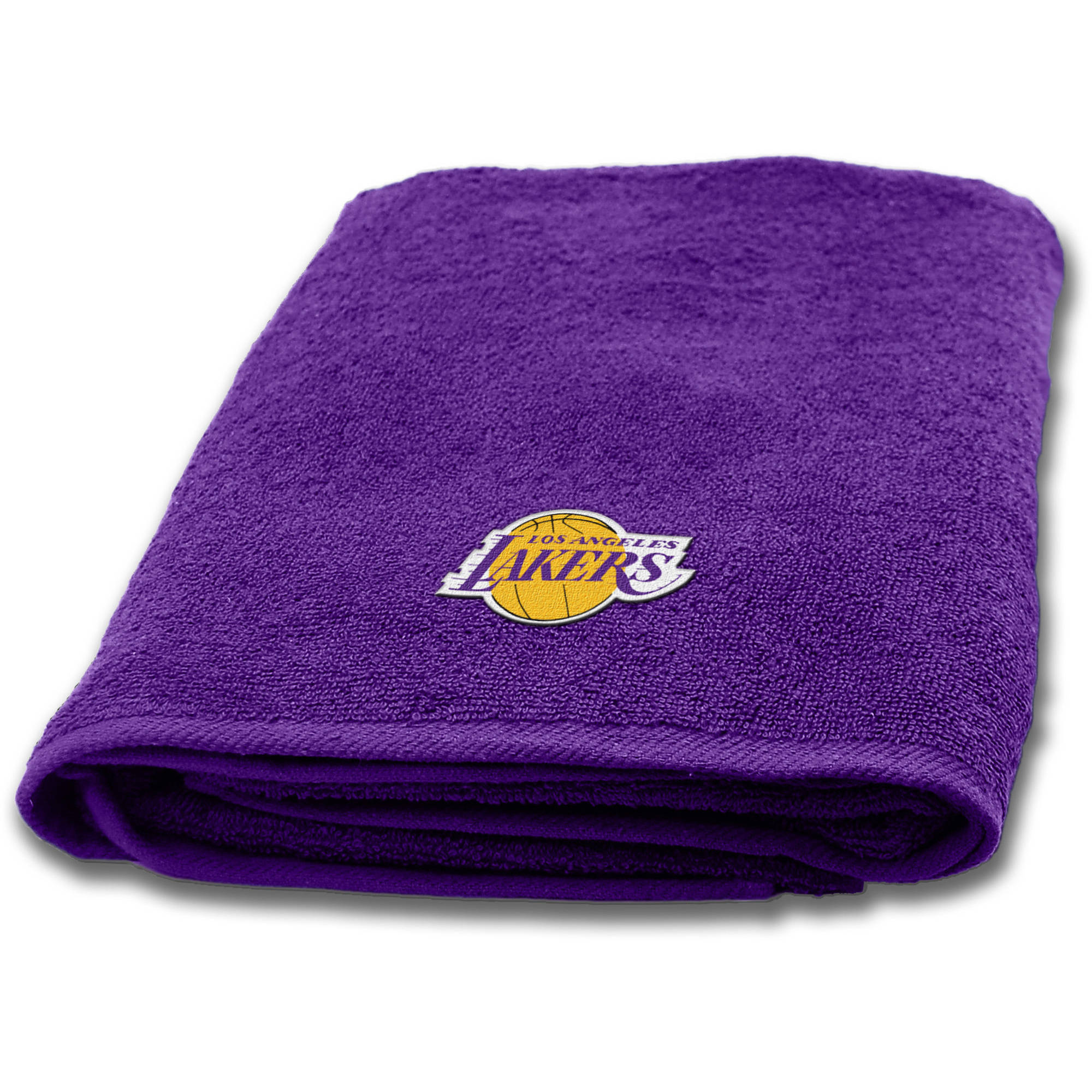 "NBA Los Angeles Lakers 25""x50"" Applique Bath Towel"