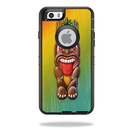 Skin For OtterBox Defender iPhone 6 – Tiki Man | MightySkins Protective, Durable, and Unique Vinyl Decal wrap cover | Easy To Apply, Remove, and Change Styles | Made in the USA - Tiki Man