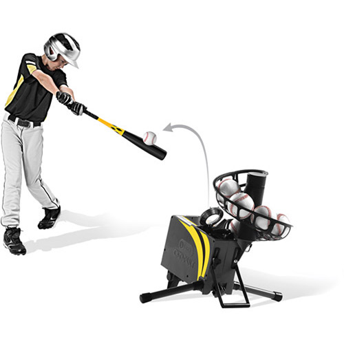 soft toss machine baseball