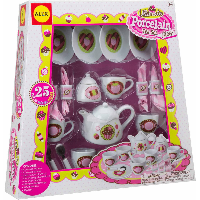 ALEX Toys Ultimate Porcelain Tea Set Party 0A702U