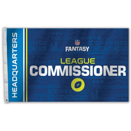 Fantasy Football Draft Commissioner Flag