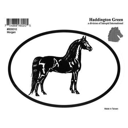 Haddington Green 600010 4.75 x 3.25 in. Morgan Mule Paso Fino Shire Decals - image 1 of 1