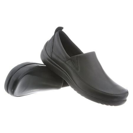 Klogs Ashbury Women's Leather Comfort Clog - Black Smooth