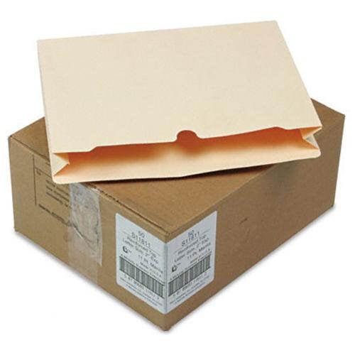 "Sj Paper 1-1/2"" Expanding Manila File Jackets - Letter - 8.50"" Width X 11"" Length Sheet Size - 2"" Expansion - 1 Pockets - Straight Tab Cut - 11 Pt. - Manila - Manila - 50 / Carton (s11811)"
