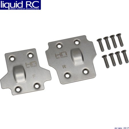 - Hot Racing SAON331X08 Stainless Steel Skid Plate Set Arrma Kraton Outcast Talion