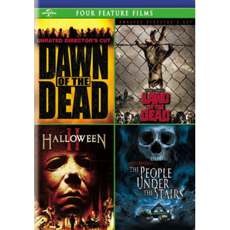 Non Slasher Halloween Movies (Dawn of the Dead / Land of the Dead / Halloween II / The People Under the Stairs)