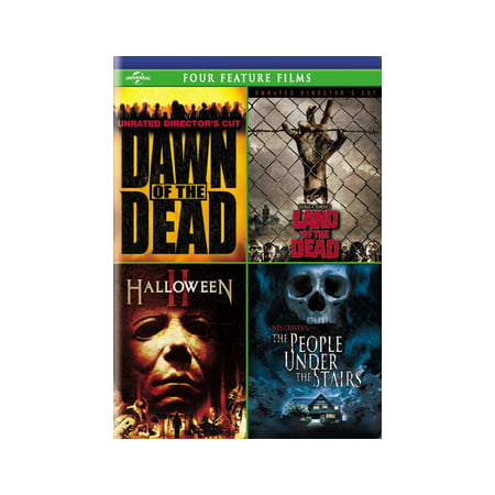 Dawn of the Dead / Land of the Dead / Halloween II / The People Under the Stairs (DVD) - Jamie Mills Price Halloween