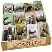 Counter Art CART91797 Wildlife Assortment with Counter Display 72 coasters