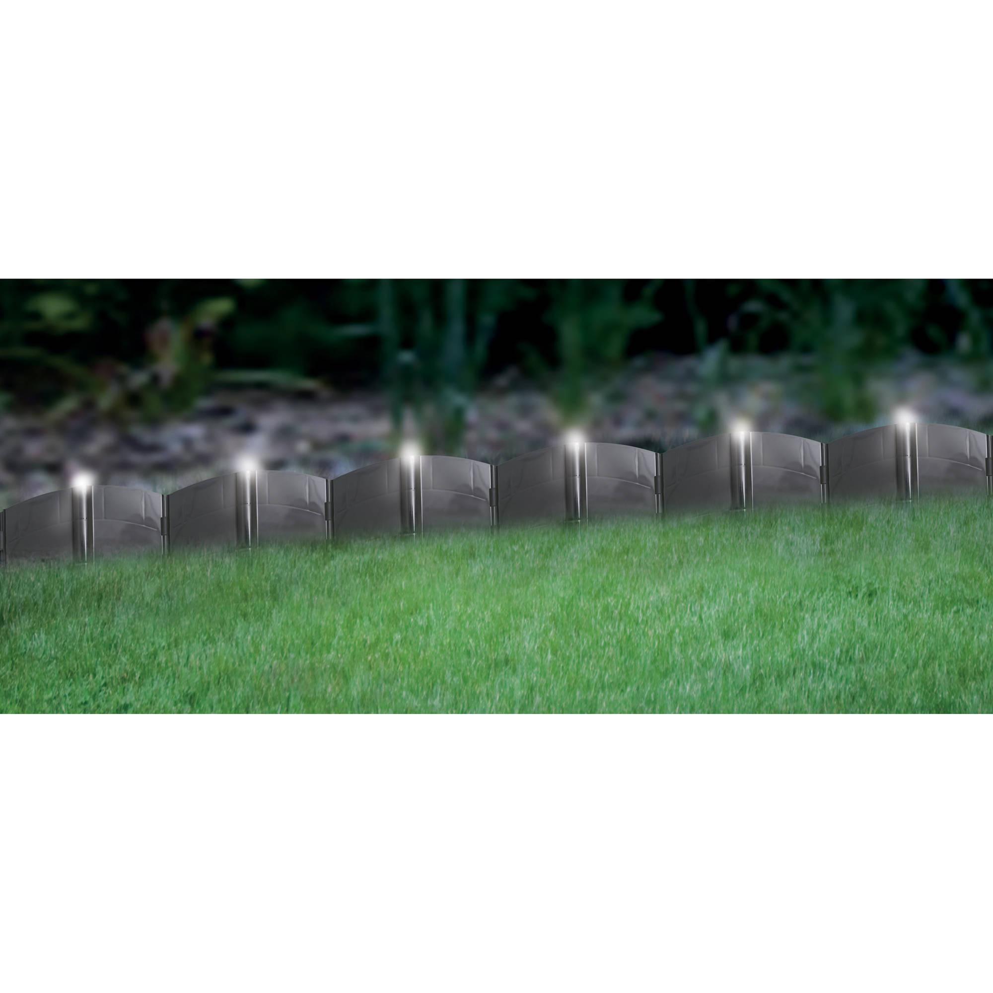 Landscaping Bricks Walmart : Garden wizard border finish kit red brick walmart