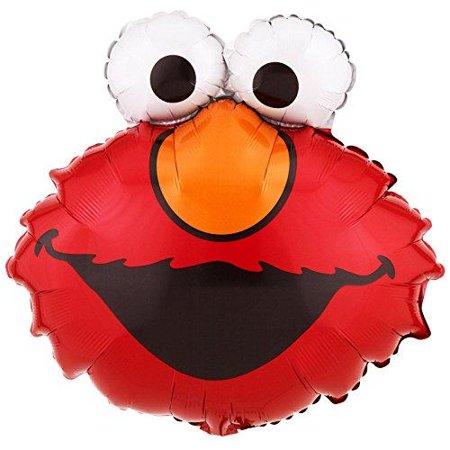 Elmo Balloon (each) - Party - Baby Elmo 1st Birthday Party Supplies