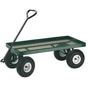 New MTN-G Wagon Garden Cart Nursery Trailer Heavy Duty Cart Yard Gardening wheelbarrows