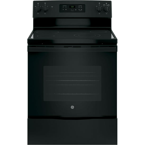 GE Appliances JBS60DKBB 30 Inch Electric Freestanding Range Black