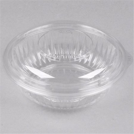 CPC 40ROS Disposable 40 oz Clear Plastic Salad Bowl with ...