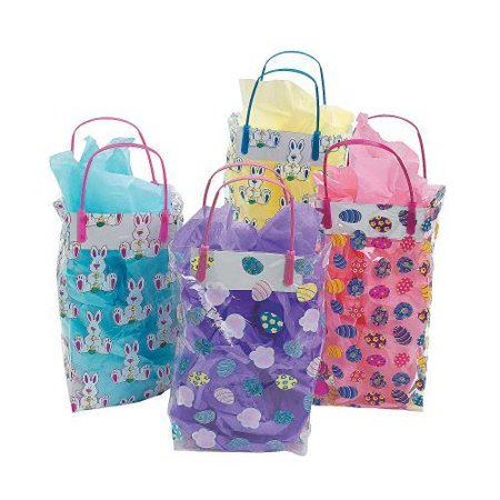 In 37431 colorful pattern easter gift bags 36 pieces walmart in 37431 colorful pattern easter gift bags 36 pieces negle Image collections