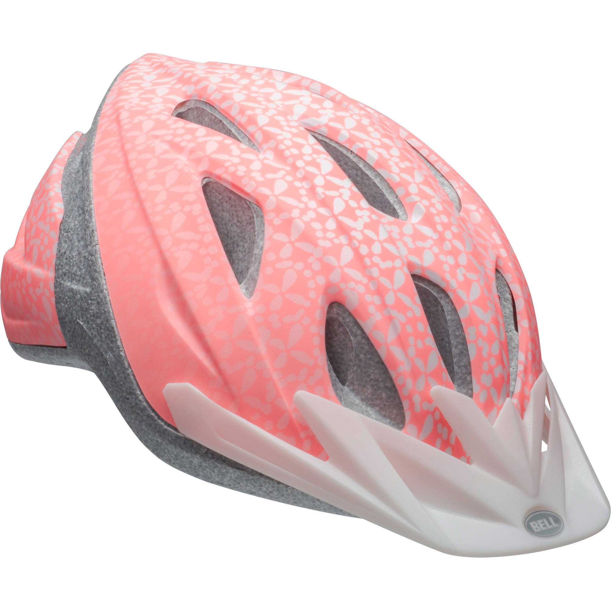 Bell Sports Bia Adult Women's Bike Helmet, Silver Sash