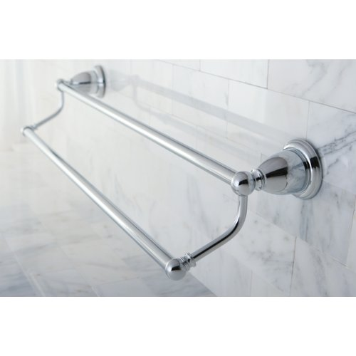 "Kingston Brass BA175318C Heritage 18"" Dual Towel Bar, Chrome - image 1 of 1"