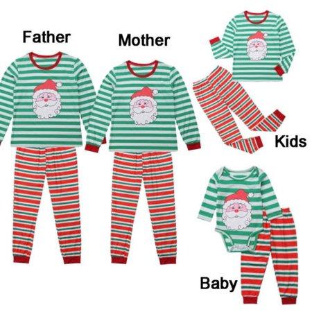 Adult Christmas Pajamas (Christmas Family Matching Pajamas Set Adult Mens Womens Kids Sleepwear)
