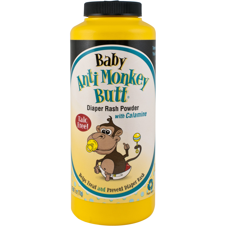 Anti Monkey Butt Baby Powder, 6 Oz by Anti-Monkey Butt