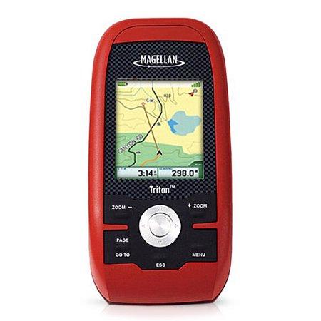 Magellan Triton 400 2 2 Inch Handheld Gps W  Built In Maps   Compass Screen