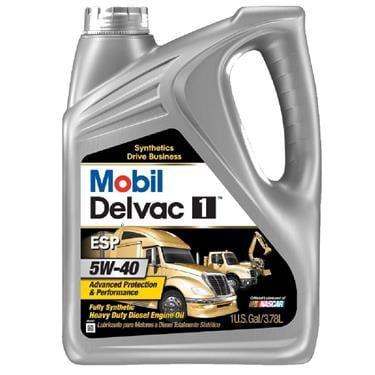 (6 Pack) Mobil Delvac 1 ESP 5W40 - Gal