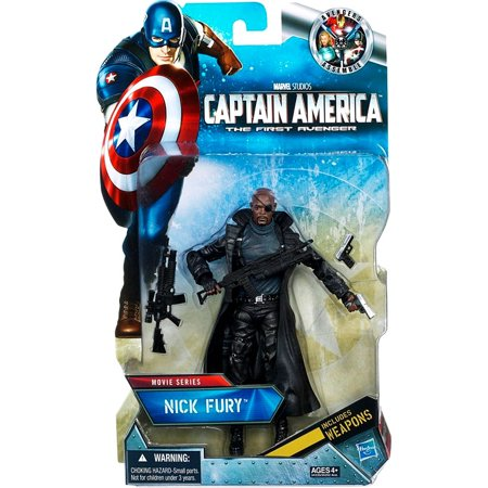 Captain America Movie Series 6 Inch Nick Fury Action Figure